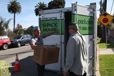 Moving with U-Pack--Ty Pennington!