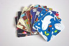 Lot de 10 Lingettes Lavables pour bébé  par GodSavetheTeatime