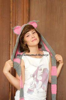 MarieCatmade: Hoodie gato