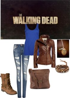"""The Walking Dead."" by psanchez512 on Polyvore"