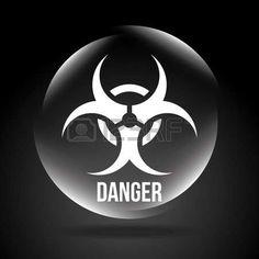 bio hazard: danger signal design