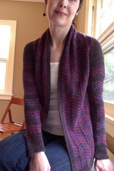 Ravelry: Maxfield Cardigan pattern by Amy Christoffers