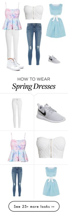 """Spring style"" by dignaaguilar on Polyvore"