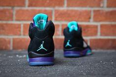 """A Closer Look at the Air Jordan 5 """"Black Grape"""" Retro"""