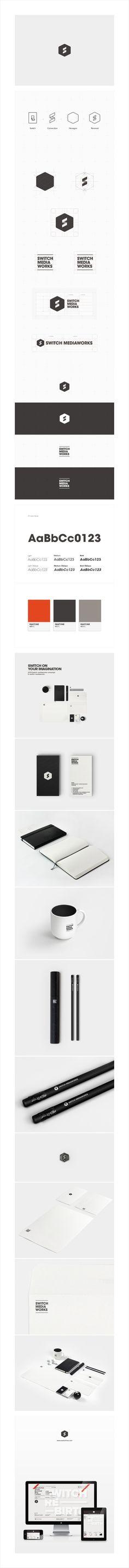 #Flat #Minimal #Identity #Design #Spread | #branding #business #marketing #inspiration