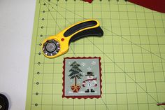 Learn to finish with the Twisted Stitcher: The Felt Mounted Ornament...