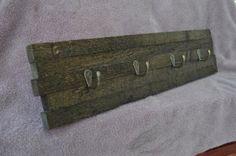 Rustic handmade coat hooks by LKWoodenthings on Etsy, $35.00