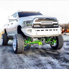 Jacked Up Trucks, Hot Rod Trucks, Ram Trucks, Dodge Trucks, Diesel Trucks, Cool Trucks, Pickup Trucks, Cummins Turbo Diesel, Dodge Diesel