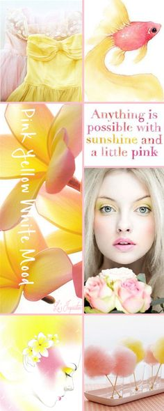 Lu's Inspiration ღ pink and yellow