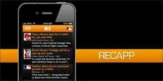 Recapp Making It Easier For Fans To Get Their Sports News