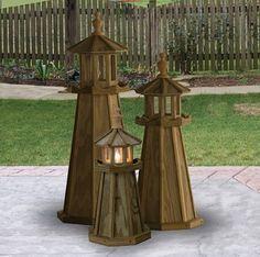 lighthouse decor for patios   Lighthouses & Nautical Décor – A Lighthouse Glossary   Rustic ...
