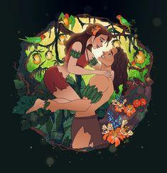 Magical Moments: Tarzan and Jane