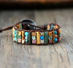 Women's Hair Accessories Reasonable Leopard Multi-beaded Hair Ring Personality Versatile Rainbow Metal Color Rough Rubber Band Headdress Retro Simple Handmade Jewel Price Remains Stable