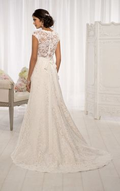 50+ Wedding Dresses Lace Back - Best Wedding Dress for Pear Shaped Check more at http://svesty.com/wedding-dresses-lace-back/