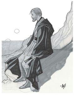 Obi-Wan KENOBI | By Adam HUGHES (MARVEL Comics) | STAR WARS : Characters