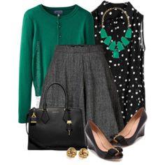 Black, Grey, Green