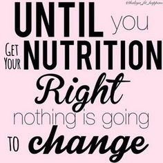 Nutrition means keeping an eye on what you drink and eat. Good nutrition is part of living healthily. If you utilize the right nutrition, your body and life can be improved. Nutrition Education, Sport Nutrition, Nutrition Quotes, Health Quotes, Fitness Quotes, Nutrition Tips, Holistic Nutrition, Proper Nutrition, Nutrition Plans