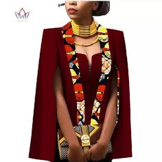 Quality African Women Clothing Full Sleeve Cape Coat Dress Suit African Tops 2 Piece Set Party Dresses Winter Dress Women Clothes with free worldwide shipping on AliExpress Mobile African Wear Dresses, African Attire, African Outfits, African Tops For Women, African Fashion Designers, Casual Skirt Outfits, Poncho, Cape Coat, Winter Outfits Women