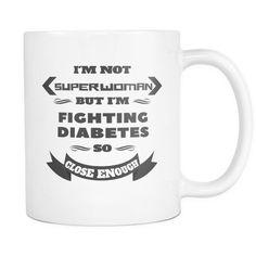Superwoman - Fighting Diabetes Mug