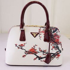 Floral Print HandBag Design  #HandBag #FloralPrintBag #LeatherHandBag #FashionTrend #FashionStyle