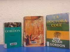-NOAH GORDON- Setmana del 18 al 24 de maig a la BCUM. La trilogia de novel·la històrica: Gordon, N. El Metge. Barcelona: Proa, 1997. Disponible a: http://cataleg.upc.edu/record=b1429919~S1*cat. Gordon, N. Xaman. Barcelona: Ediciones B], 1997. Disponible a: http://cataleg.upc.edu/record=b1143222~S1*cat.  Gordon, N. La Doctora Cole. Barcelona: Ediciones B, Grupo Z, 1996. Disponible a: http://cataleg.upc.edu/record=b1143301~S1*cat.