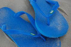 Monocolor drapeau brésil bleu électrique
