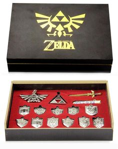 This 14-Piece Legend Of Zelda Necklace Has A Look For Every Outfit