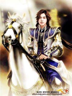 m Half Elf Cleric on Horseback Dynasty Warriors, Paladin, Kim Hyung, Baek Seung Jo, Kim Joong Hyun, Inspiring Generation, Ji Hoo, Kim Bum, Yoo Ah In