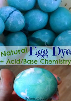 Make your own natural egg dye using red cabbage. Learn amazing acid/base chemistry by painting your eggs with various household materials.