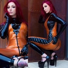 You can enjoy over 100 new sexyyy photos in the member zone of www.susanwaylandclub.com this week.Hope you guys will enjoy the seductive mixture of kink, fashion and naughty images    #latex #catsuit #altmodel #highheels #heels #foottattoo #latexfetish #fetish #babe #redhead #susanwayland #tight #jumpsuit #longlegs