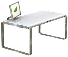 Thinking About a Best Computer Setup: Mesmerizing Minimalist Contemporary Mac PC Hybrid Computer Desk Ideas With Best Computer Setup ~ promwardrobe.com Home Office Inspiration