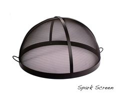 "Spark Screen 24"" Diameter x 14.5"" Height x 3/16"" Thick Steel (Black High Heat Finish) $249.95 No Assembly Required FREE SHIPPING*"