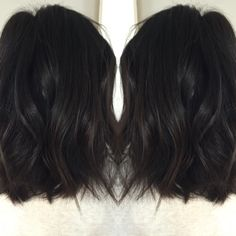 Fresh chop inspired by Jenna Dewan Tatum!! Choppy texture and rich dark color