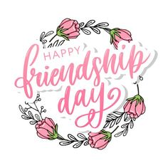 Hand Drawn Happy Friendship Day Felicitation With Lettering Text Sign And Color Grunge Effect. Hand drawn happy friendship day felicita... | Premium Vector #Freepik #vector #poster #hand #fashion #retro Happy Friendship Day Messages, Friendship Day Images, Friendship Quotes, Best Friend Poems, Long Relationship Quotes, International Friendship Day, Text Signs, Attitude, English Writing Skills