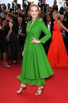 Jessica Chastain, Cannes 2017
