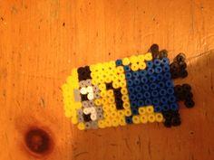 Minion melts bead art