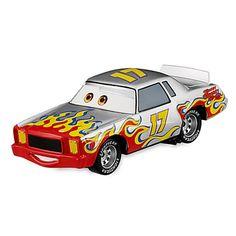 Mattel Voiture Disney Pixar Cars Racer NO.17 Darrell Cartrip Fixed Eyes