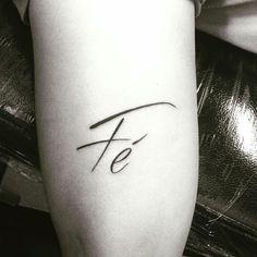 tatuagens pequenas Para Homem FÉ