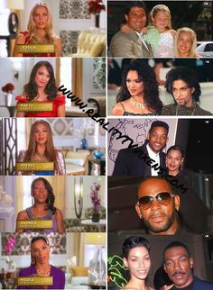 Hollywood Exes.  Great reality tv.  All lovely but Nicole Murphy is stunning.  Love her mom too. Lol