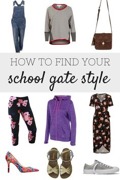 Find your School Mum Style with this School Mom Style guide.  All the best School Mum looks in one place.  Real Mum Style at it's best.
