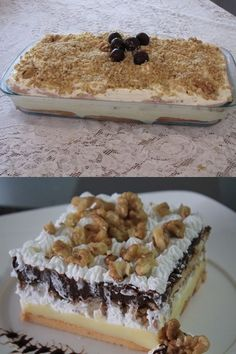 46 Ideas cheese cake toppings christmas for 2019 Pie Recipes, Sweet Recipes, Dessert Recipes, My Favorite Food, Favorite Recipes, Cake Toppings, Creative Food, Love Food, Bakery