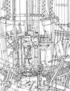 Reactor Environmental Concept by MikeDoscher.deviantart.com on @DeviantArt