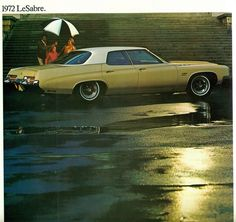 1972 Buick LeSabre Four Door Hardtop