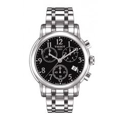 Tissot Dressport Women's Quartz Chronograph Watch with Stainless Steel Bracelet