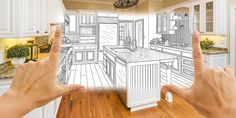 5 Kitchen Renovation Survival Tips Bathroom Remodeling Contractors, Kitchen And Bath Remodeling, Kitchen And Bath Design, Kitchen Remodel, Residential Landscaping, Kitchen Pictures, Big Houses, Classic Furniture, Image House
