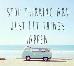 Overthinking everything?_
