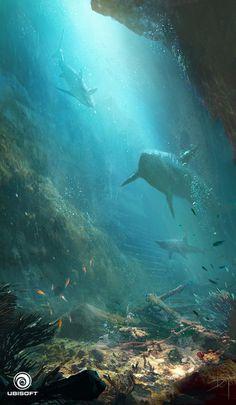 Assassin's Creed IV: Black Flag_Underwater scene
