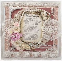 Live & Love Crafts' Inspiration and Challenge Blog: Silent Night