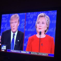 this last debate to me seem very dry with no real purpose I...