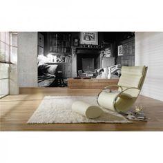 Diese Fototapete stellt ein altes Wohnzimmer dar, was man in der heutigen Zeit garnicht mehr kennt. #LivingRoom #Fototapete #Wadeco // www.wadeco.de/living-room-fototapete-wandtattoo.html